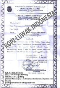 P.IRT Kopi Luwak Indonesia | 081334007003